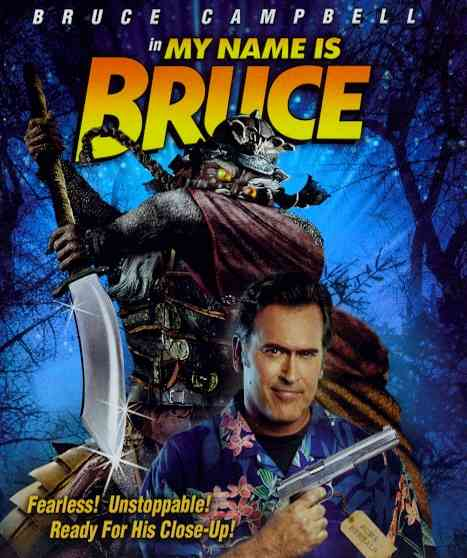 MY NAME IS BRUCE BY CAMPBELL,BRUCE (Blu-Ray)